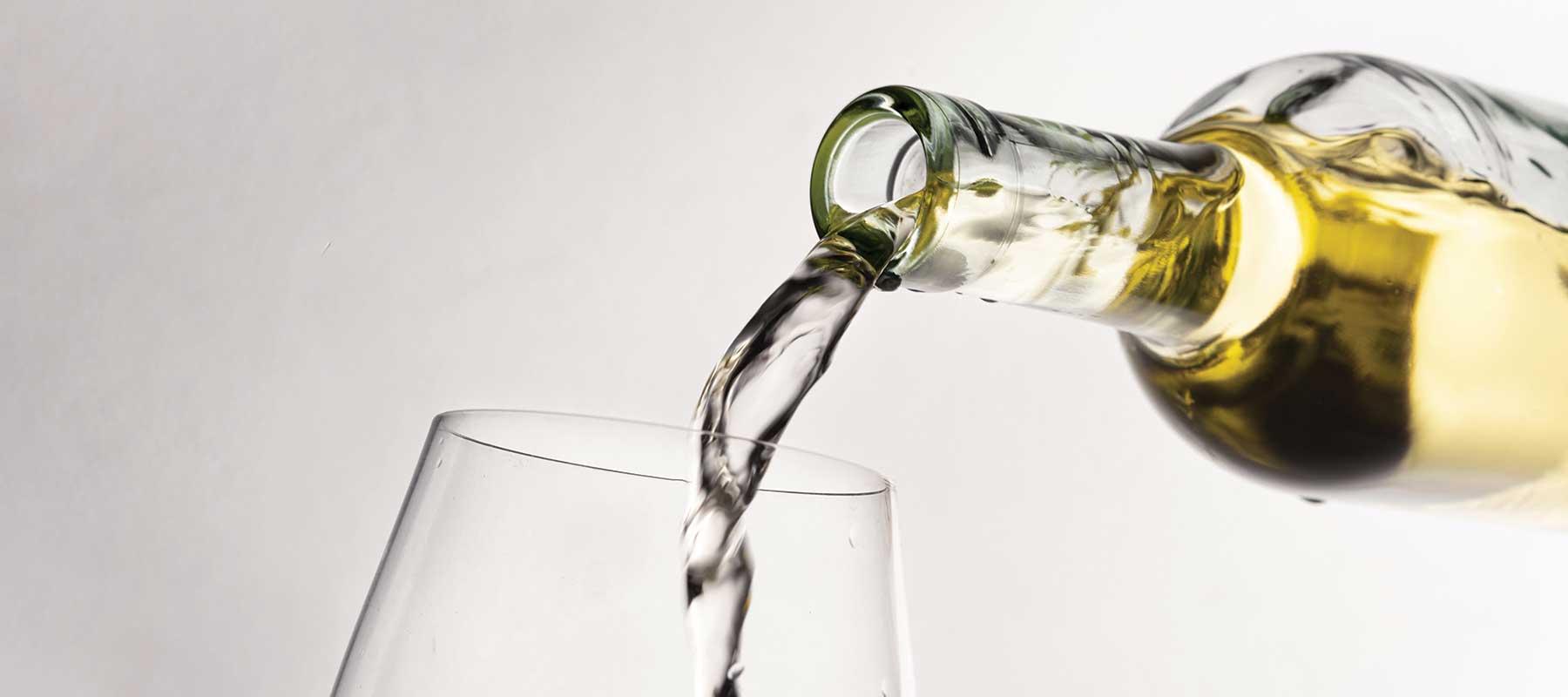 bottiglia con vino