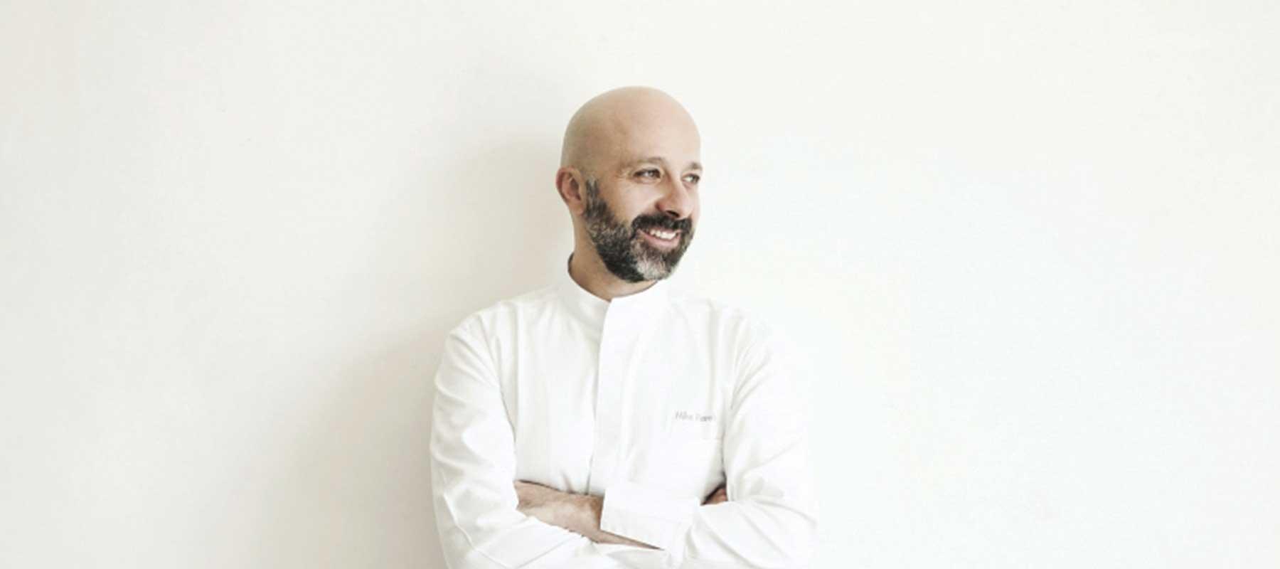 ritratto dello chef stellato niko romito
